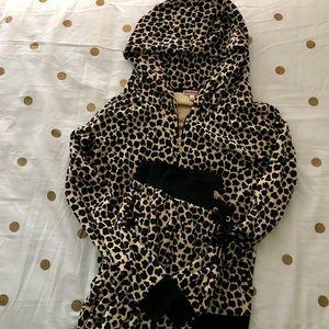 Juicy Couture Leopard Print Track Suit